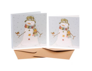 Sally Swannell | 'Snowman' Card Set