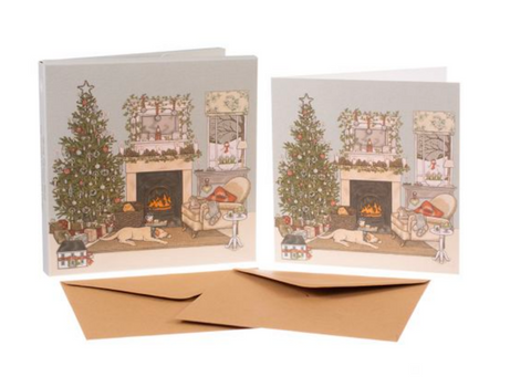 Sally Swannell | 'Christmas Eve' Card Set
