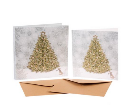 Sally Swannell | 'Christmas Tree' Card Set