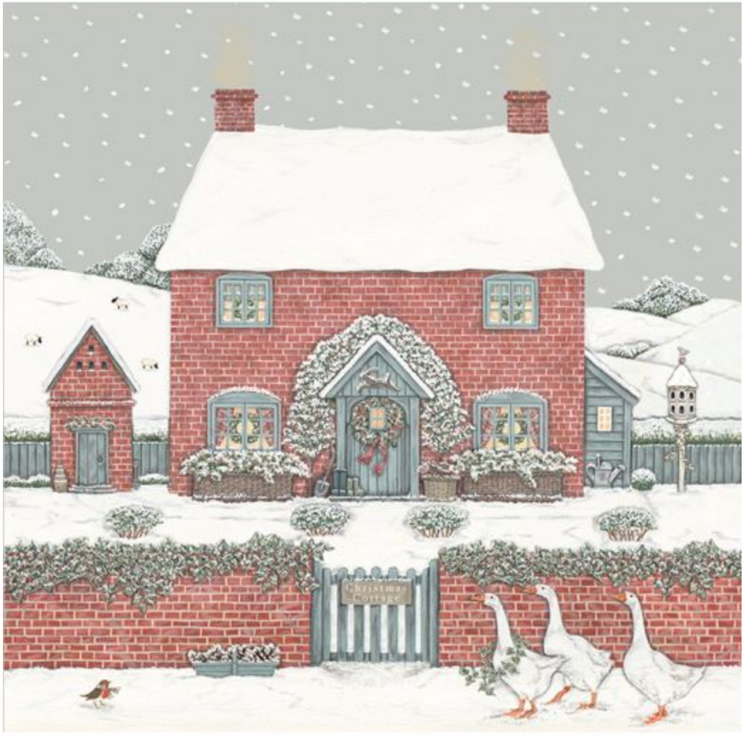 Sally Swannell | 'Christmas Cottage' Card Set