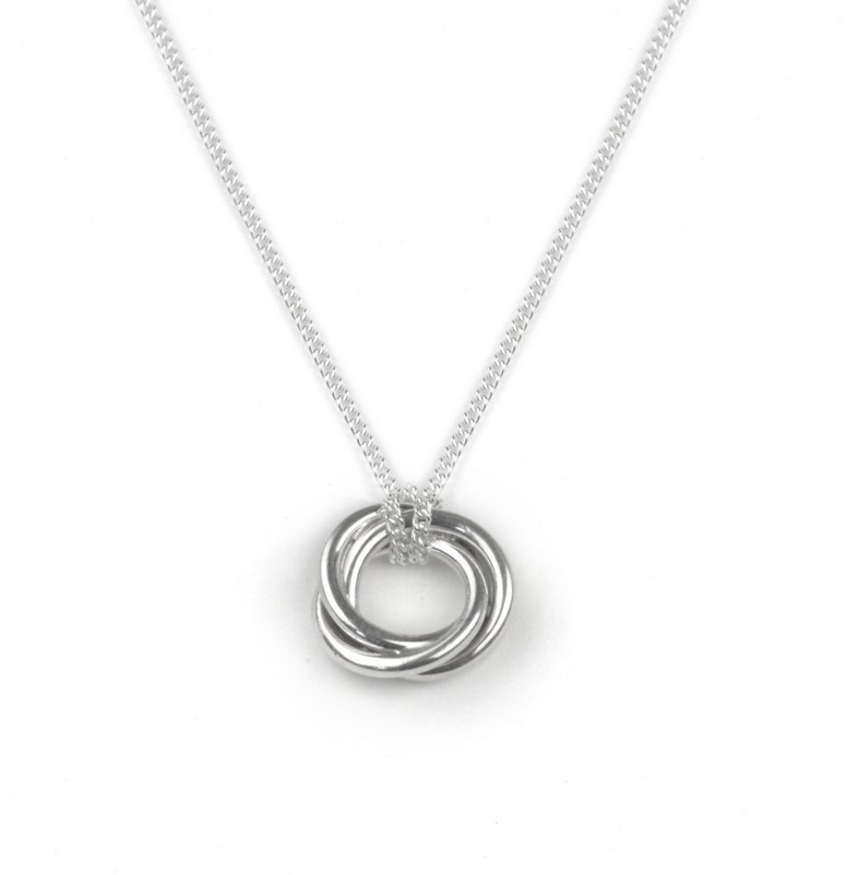 Tales From The Earth |  Silver bond of friendship necklace