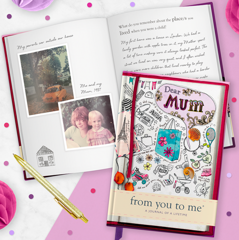 From me to you | Journal of a Lifetime - Mum, Dad, Grandad, Grandma
