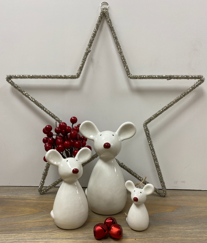 Christmas Decorations | Mice Ornaments