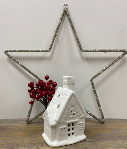 Christmas Decoration | Light Up House Ornament