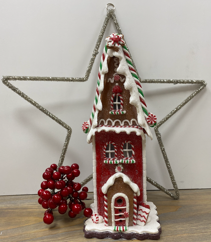 Gisella Graham | Light Up Gingerbread House