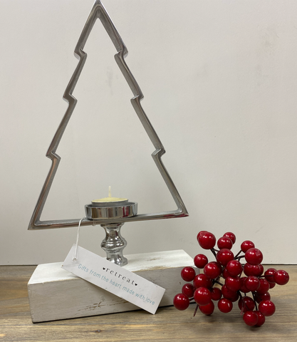 Christmas | Candle Holder | Tree