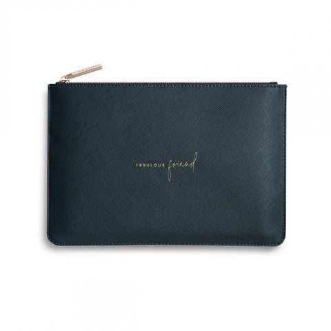 Katie Loxton | Perfect Pouch | Fabulous Friend | Navy