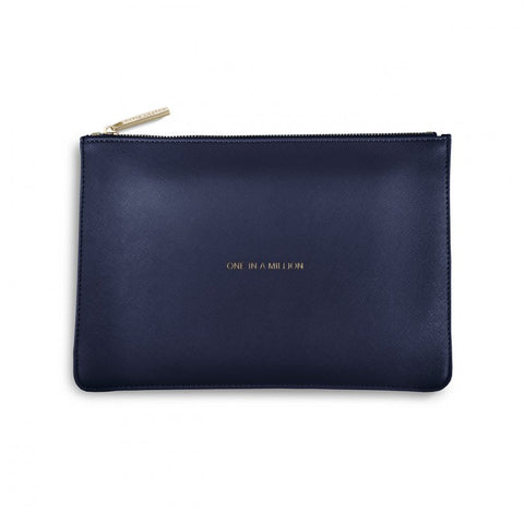 Katie Loxton | Perfect Pouch | One In A Million | Navy