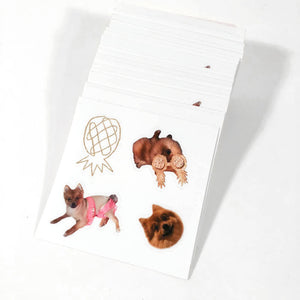 Ethel the Pom Sticker Sheets