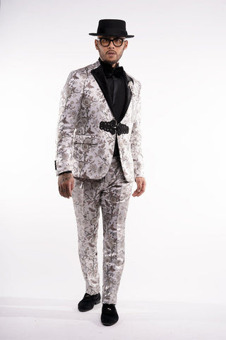 -Jacquard- Fabric Suit Selection