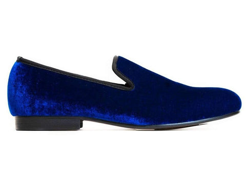Royal Blue Dress Slipper