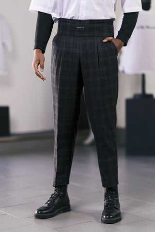 Sartorial Funk High Waisted Trouser