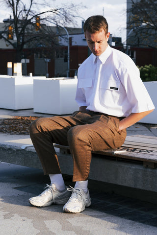 Sartorial Funk Short Sleeved Collared Shirt