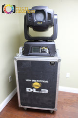 High End Systems DL3 Moving Light Projector Head & Roadcase NEEDS SERVICE