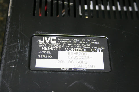 JVC RM-P200U CCU Camera Remote Control Unit 26 Pin CCZ Connection FREE SHIPPING