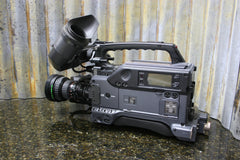 Sony DSR-390 NTSC Broadcast Camera Fujinon Lens Included LOW 170 Total OP Hours - tin can industries - 1