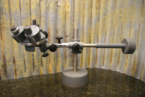 Vintage Bausch & Lomb Microscope w/Heavy Adjustable Base Included Free Shipping