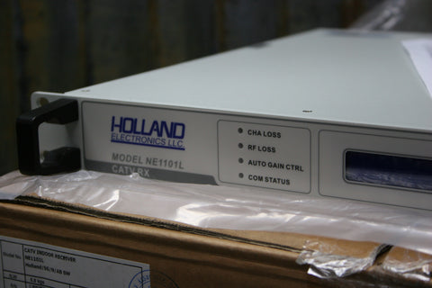 BRAND NEW Holland Electronics NE1101L Optical 750MHz CATV Receiver FREE SHIPPING