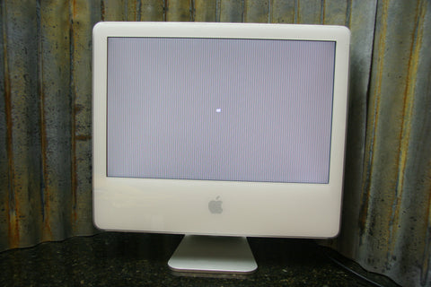 Apple iMac 20 Desktop M9824LL/A No HDD Lines In Display Sold For Parts Or Repair