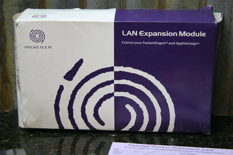 Brand New SEALED Packeteer LEM-100M LAN Expansion Module 10/100MB TX Free S&H