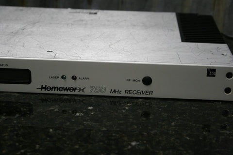 ADC ALS Homeworx 750 MHz Fiber Optic Receiver Powers On Good Condition Free S&H
