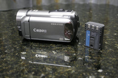 Canon Vixia HF R100 HD Camcorder Fully Tested Charger Not Included FREE SHIPPING - tin can industries - 1