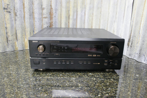 Denon AVR-3300 Surround Sound Home Theater Receiver WON'T POWER ON Free Shipping
