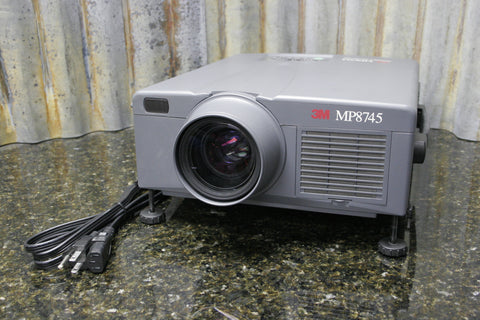 3M MP8745 LCD Home Theater Presentation Projector Fully Tested FREE SHIPPING