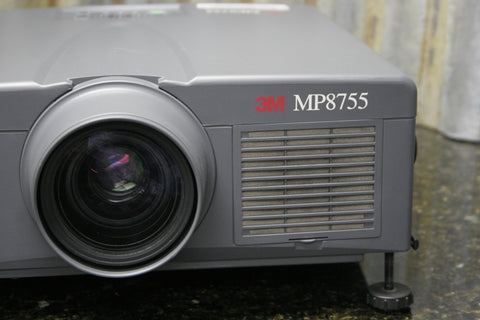 3M MP8755 LCD Home Theater Presentation Projector Fully Tested FREE SHIPPING