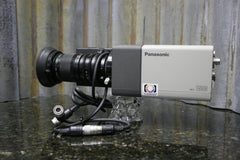 Panasonic WV-E550 3CCD Studio Camera Fujinon S4 x5.5 Lens Included FREE SHIPPING - tin can industries - 1