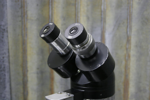 Junco Model TSB-1 1x-3x Widefield Microscope 10x Eyepieces Tested FREE SHIPPING