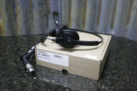 BRAND NEW Anchor Audio H-2000LT 4 Pin Lightweight Com Headset FREE SHIPPING