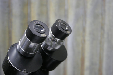 Junco Model TSB-1 1x-3x Widefield Microscope 10x Eyepieces Tested FREE S&H INCL