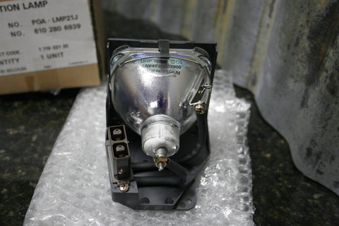 Genuine OEM Phillips Proxima Sanyo POA-LMP21J Projector Lamp & Housing FREE S&H