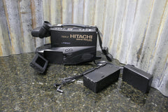 "Hitachi VM-7500LA Rapid Reflex VHS Camcorder 3"" Color Screen 16X Zoom FREE S&H - tin can industries - 1"