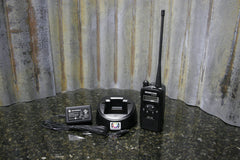 Bearcom Motorola Model BC-120 2 Way Portable Radio & Charger 435-480MHz FREE S&H - tin can industries - 1