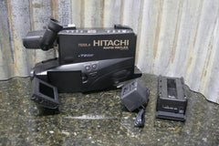 "Hitachi VM-7500LA Rapid Reflex VHS Camcorder 3"" Color Screen FREE SHIPPING - tin can industries - 1"