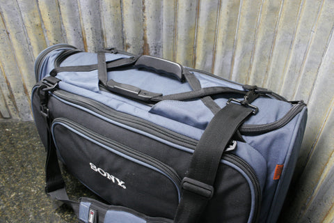 Sony LC-400BP DVCAM Full Size Broadcast Camera Bag Great Condition FREE SHIPPING