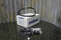 NEW KBC Snowmobile Helmet Dual Electric Face Shield Screen Kit 83-1138 FREE S&H - tin can industries - 1