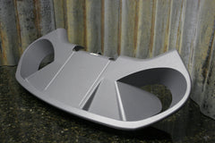 Precor C846i Commercial Exercise Bike Rear Drink Tray Assembly FREE SHIPPING - tin can industries - 1