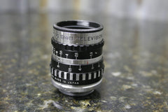 Packard Bell Television Cinema Lens 25mm 1:1.9 Great Condition FREE SHIPPING - tin can industries - 1