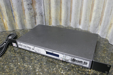 Leightronix LABvault SD Digital Audio Video Recorder Remote Viewing $3495 MSRP
