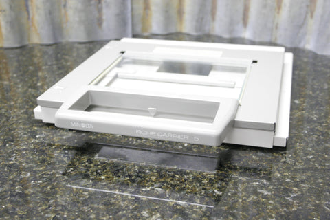 MInolta Fiche Carrier 5 Adjustable Microfilm Microfiche Tray FAST FREE SHIPPING