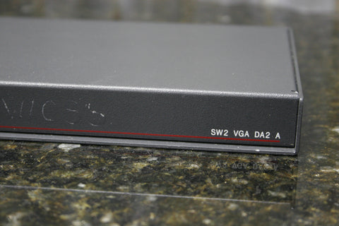 Extron SW2 VGA DA2 A Stereo Audio Video Switcher Distribution Amplifier FREE S&H