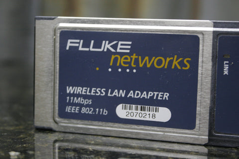 Fluke Networks Optiview Wireless LAN Adapter Great Condition FREE SHIPPING