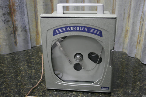 "Weksler Compact 6"" 24 Hour Circular Temerature Chart Recorder 06L1A1B FREE S&H"