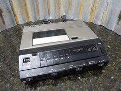 Sanyo TRC-9010 Desktop Full Size Cassette Voice Recorder For Parts Or Repair - tin can industries - 1