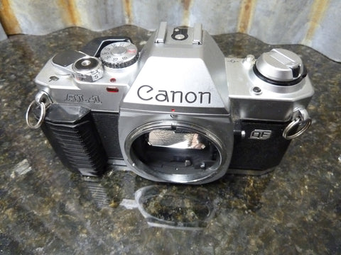 Canon AL-1 35mm SLR Film Camera Body Only Being Sold Parts Or Repair
