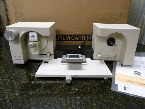 Brand New Old Stock NOS Minolta Microfilm Rollfilm Carrier 16