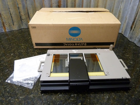 Brand New Old Stock NOS Minolta Microfiche Tray FC-6 Fast Free Shipping Included
